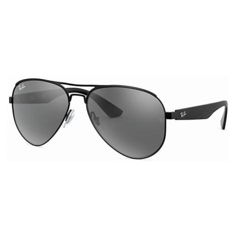 Ray-Ban Rb3523 Man Sunglasses Lenses: Gray, Frame: Black - RB3523 006/6G 59-17