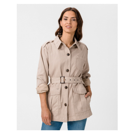 Pepe Jeans Caby Jacket Beige