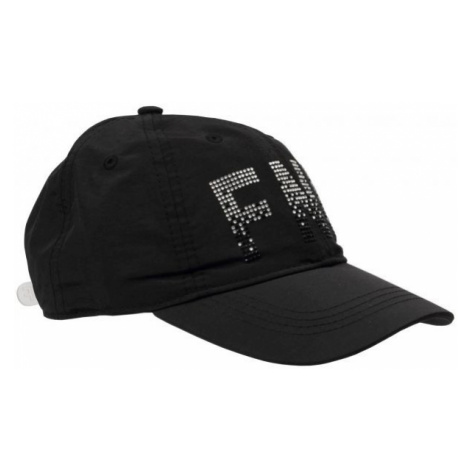 Finmark CHILDREN'S SUMMER BASEBALL CAP black - Children's summer baseball cap