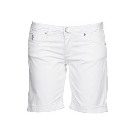 U.S Polo Assn. MELISSA women's Shorts in White U.S. Polo Assn