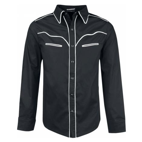 Banned - Plain Trim - Shirt - black-white