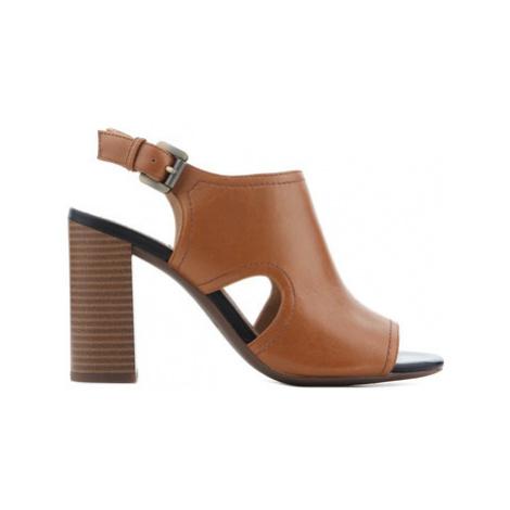 Geox D Audalies H.S.B. Caramel D824WB 00044 C5102 women's Sandals in Brown