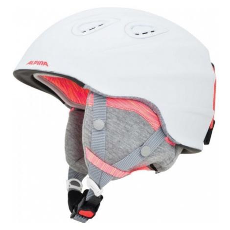 Alpina Sports GRAP 2.0 LE white - Unisex ski helmet