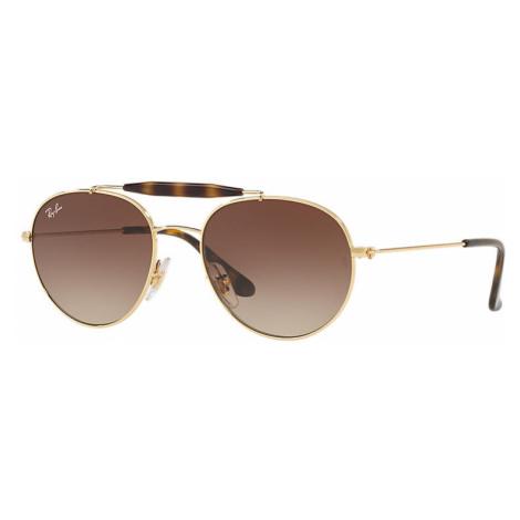 Ray-Ban Rj9542s Unisex Sunglasses Lenses: Brown, Frame: Gold - RJ9542S 223/13 50-17