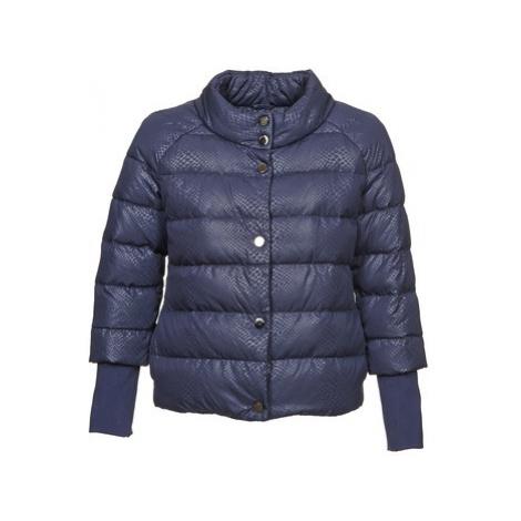 Blue women's winter jackets