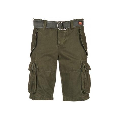 Superdry CORE CARGO HEAVY SHORT men's Shorts in Kaki