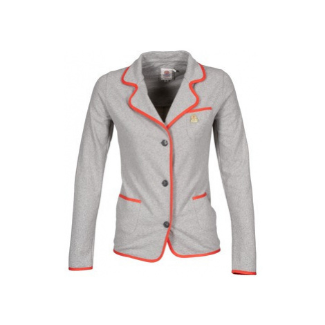 Franklin Marshall JKWVA509 women's Jacket in Grey Franklin & Marshall