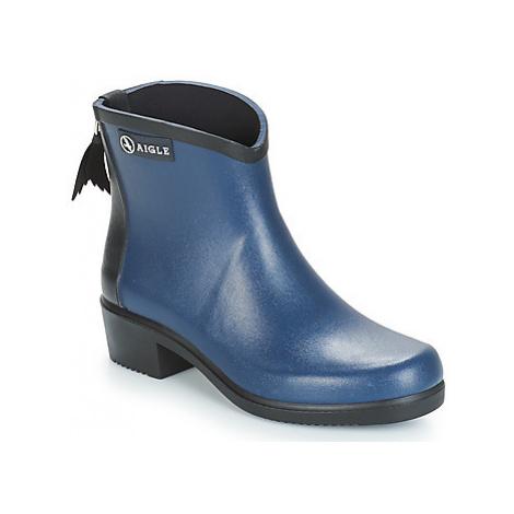 Aigle MS JUL BOT COL women's Wellington Boots in Blue