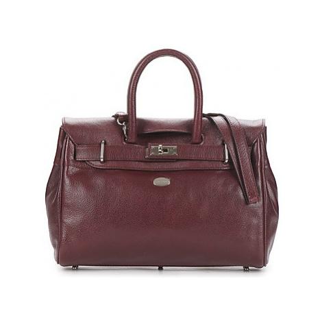 Mac Douglas BUFFLE NICKEL PYLA XS women's Handbags in Purple