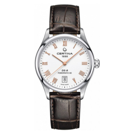 Ladies Certina DS-8 Powermatic 80 Automatic Watch