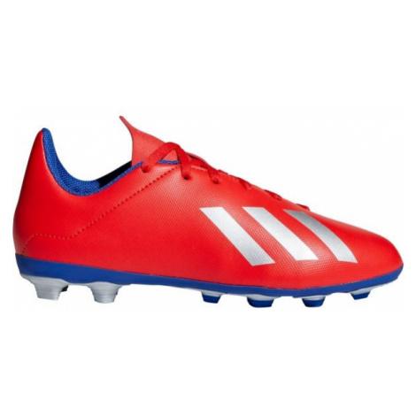 adidas X 18.4 FXG J red - Kids' football boots