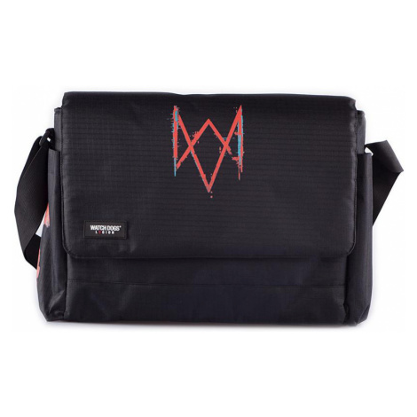 Watch Dogs - Legion - Messenger bag - black-red