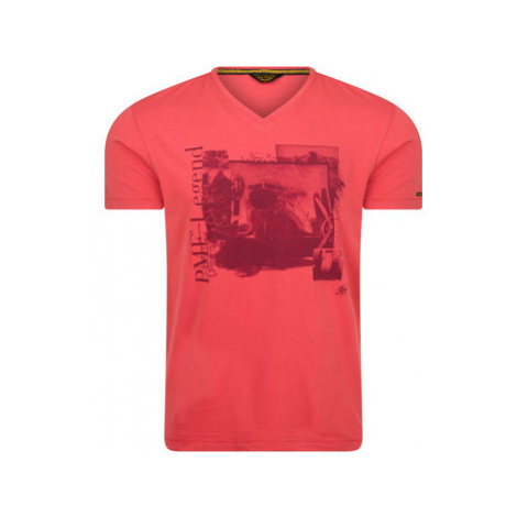 Pme Legend Logo Tee Red men's T shirt in Red