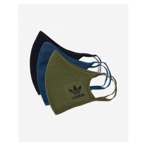 adidas Originals Face mask 3 pcs Blue Green