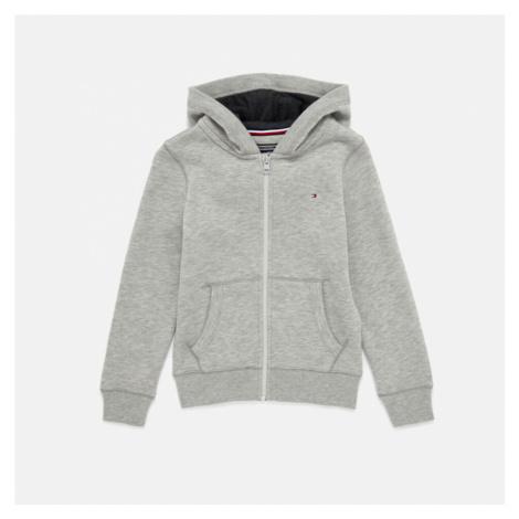 Tommy Hilfiger Boys' Essential Zip Up Hoody - Grey Heather