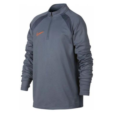 Nike DRY ACDMY DRIL TOP SMR grey - Boys' sports T-shirt