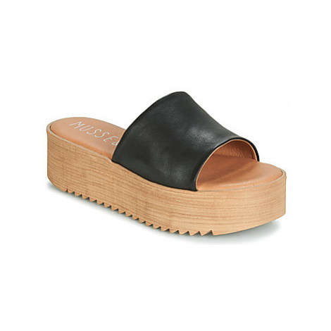 Musse Cloud KENDRIA women's Mules / Casual Shoes in Black Musse & Cloud