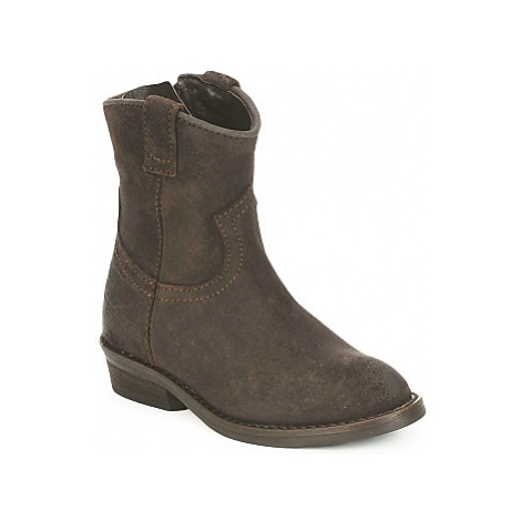 Hip TINOUI girls's Children's Mid Boots in Brown