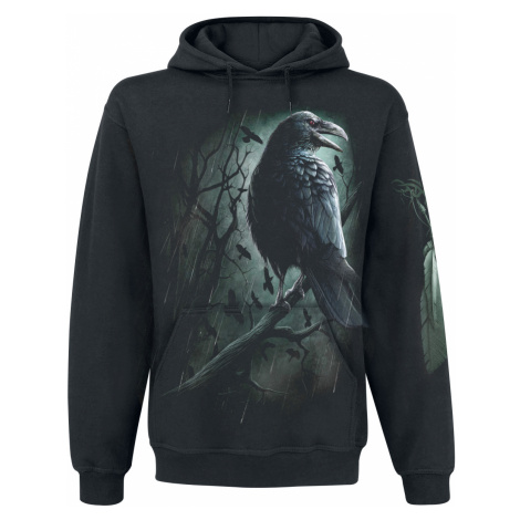 Spiral - Shadow Raven - Hooded sweatshirt - black