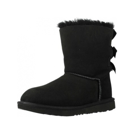 UGG BAILEY BOW II girls's Children's Snow boots in Black