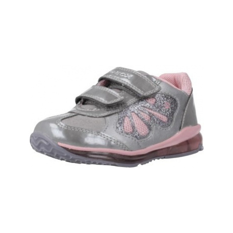 Geox B TODO GIRL girls's Children's Shoes (Trainers) in Grey