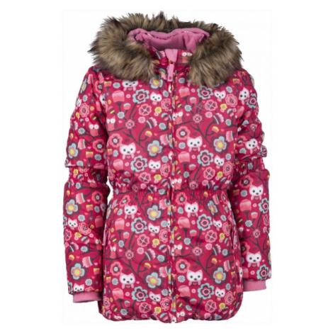 Lewro LAWANDA 140-170 red - Girls' winter jacket