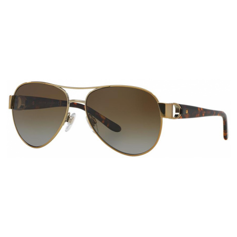 Ralph Lauren Woman RL7047Q - Frame color: Gold, Lens color: Brown, Size 58-15/140
