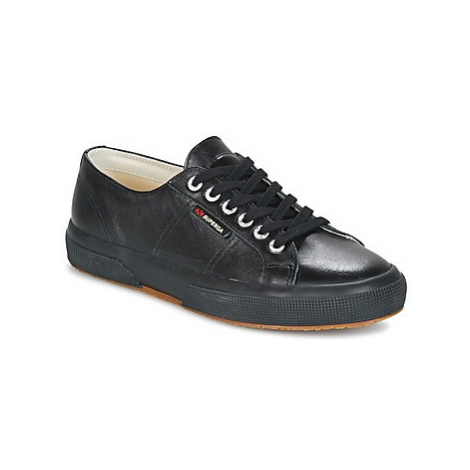 Superga 2750 LUXE EDITION women's Shoes (Trainers) in Black