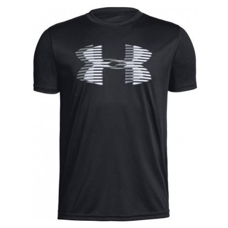 Under Armour TECH BIG LOGO SOLID TEE black - Boys' T-shirt