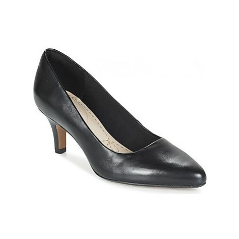 Clarks ISIDORA FAYE women's Court Shoes in Black