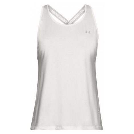 Under Armour SPORT BRANDED TANK white - Women's tank top