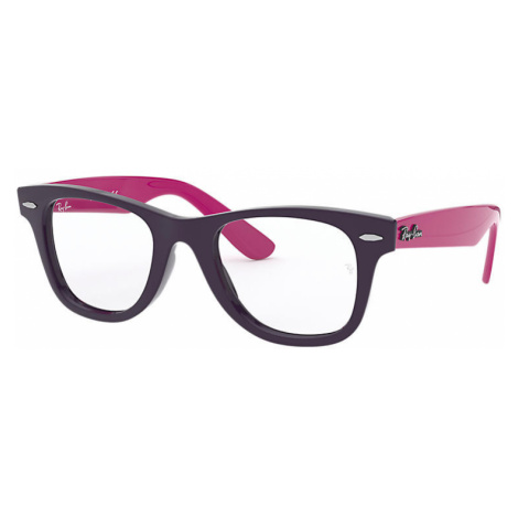 Ray-Ban Wayfarer junior optics Unisex Optical Lenses: Multicolor, Frame: Purple-reddish - RB9066