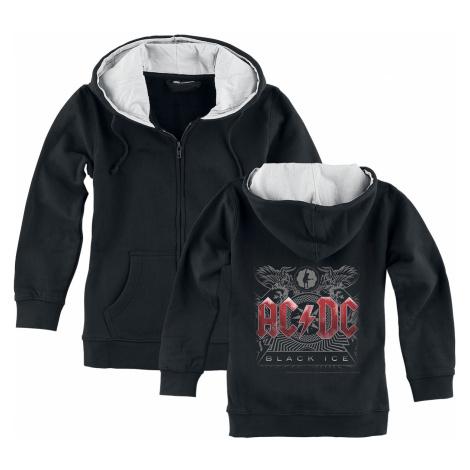 AC/DC - Black Ice - Kids hooded zip - black