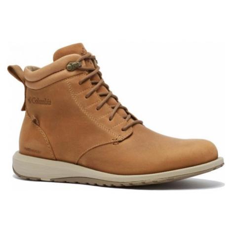 Columbia GRIXSEN BOOT WP brown - Men's walking shoes
