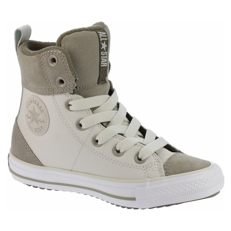 shoes Converse Chuck Taylor All Star Asphalt Boot Hi/C658068 - Pale Putty/Malted/Engine Smoke
