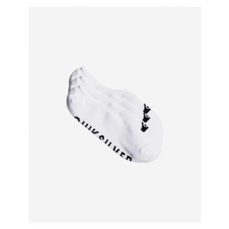 Quiksilver Set of 3 pairs of socks White