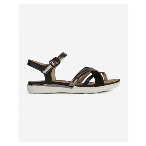 Geox Hiver Sandals Black