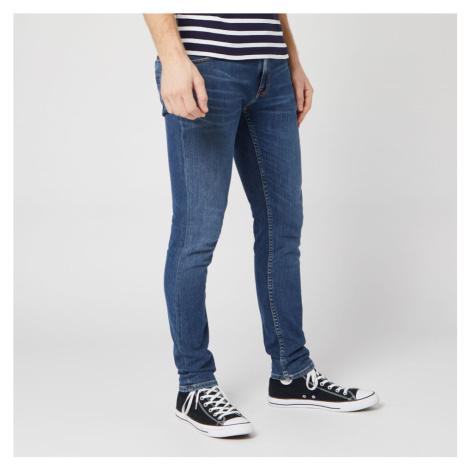 Nudie Jeans Men's Lin Skinny Jeans - Dark Blue Navy Nudie Jeans Co
