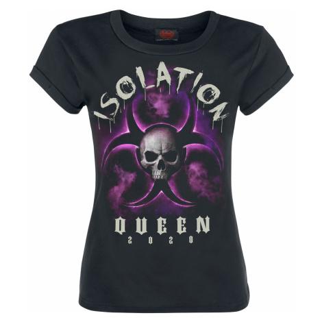 Spiral - Isolation Queen - Girls shirt - black