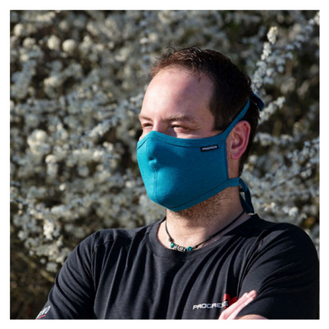 Progress SHAPED MASK blue - Shaped mask