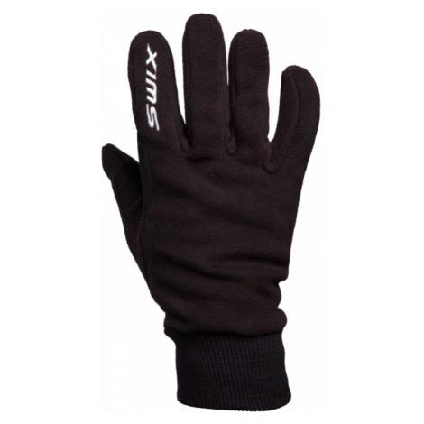 Swix ORION FLEECE M black - Warm winter gloves