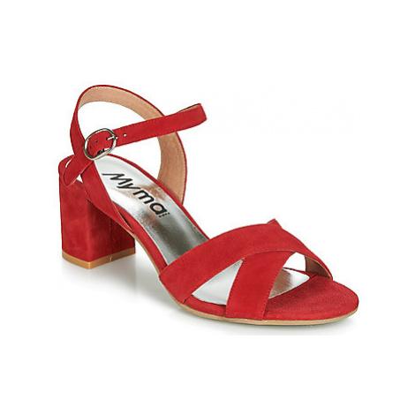 Myma KATIE women's Sandals in Red