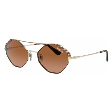Vogue Eyewear Woman VO4134S - Frame color: Brown, Lens color: Brown, Size 53-19/135