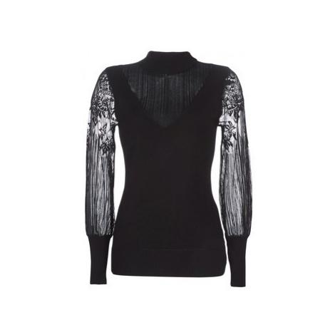 Moony Mood LOVEI women's Sweater in Black