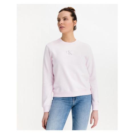 Calvin Klein Monogram Logo Sweatshirt Pink