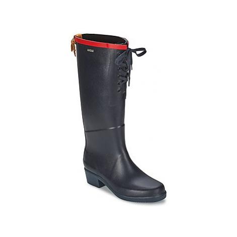 Aigle MISS JULIETTE L women's Wellington Boots in Blue