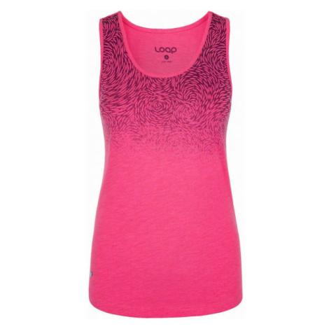Loap BLORA pink - Women's tank top