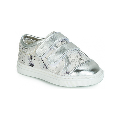 Citrouille et Compagnie JORDANIA girls's Children's Shoes (Trainers) in Grey