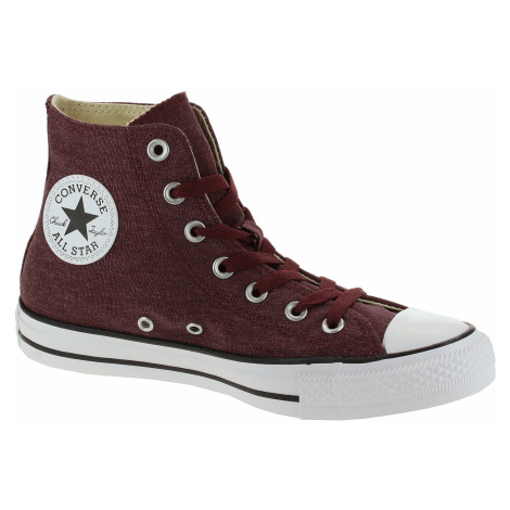 shoes Converse Chuck Taylor All Star Hi - 164448/Dark Burgundy/Natural Ivory