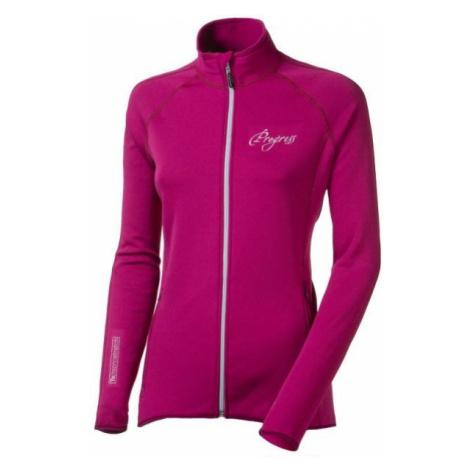 Progress WINNER LADY MIKINA pink - Women's functional sweatshirt
